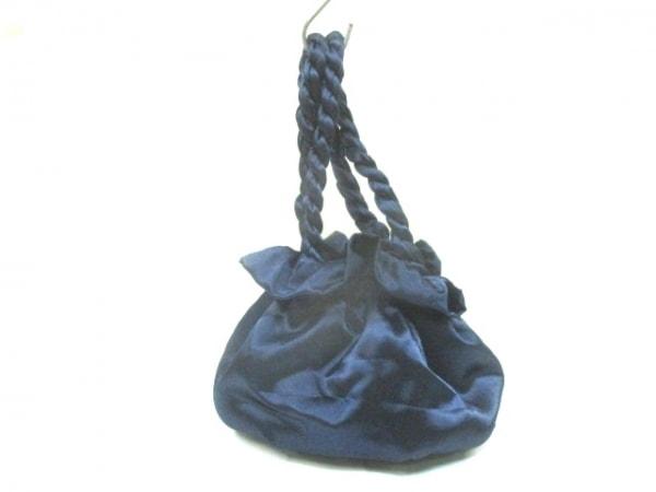 Maison de Reefur(メゾン ド リーファー) ハンドバッグ ネイビー 化学繊維