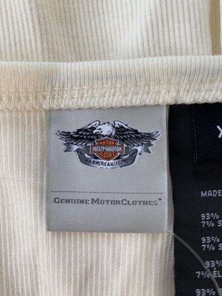 ハーレーダビッドソン タンクトップ サイズXL メンズ美品  ラインストーン