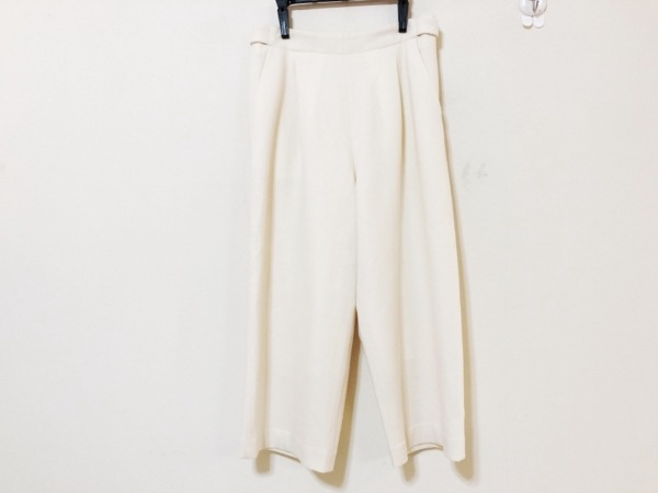 ESTNATION(エストネーション) パンツ サイズ36 S レディース アイボリー