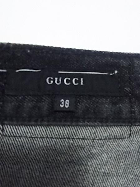 GUCCI(グッチ) ジーンズ サイズ38 S レディース 黒