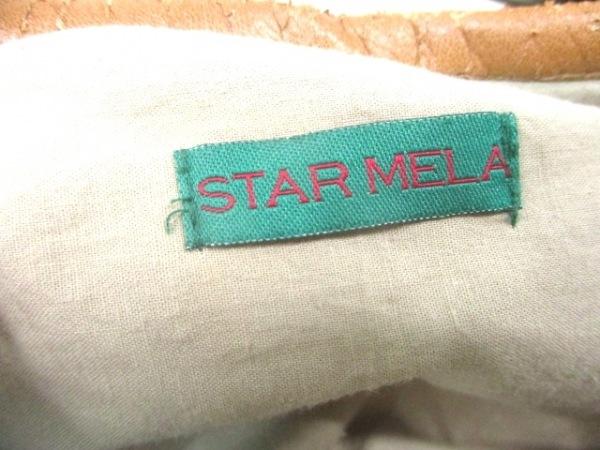 STAR MELA(スターメラ) ショルダーバッグ ライトグレー×マルチ 化学繊維×合皮