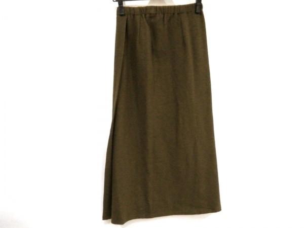 ヨーガンレール ロングスカート サイズM レディース美品  ダークグリーン