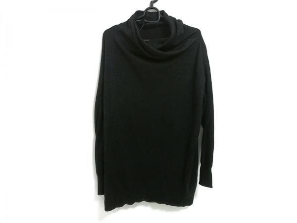 mizuiro  ind(ミズイロインド) 長袖セーター レディース 黒