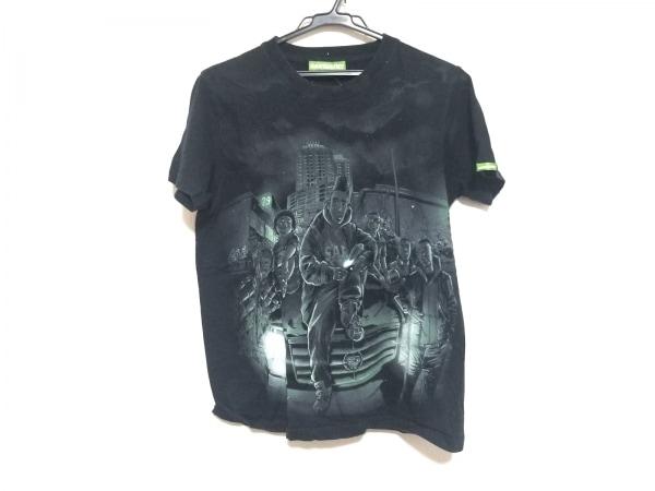SANTASTIC!(サンタスティック) 半袖Tシャツ サイズM メンズ美品  黒×グリーン
