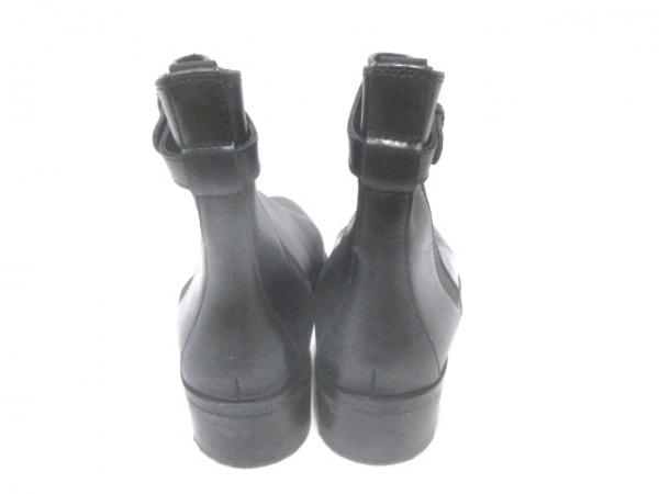 kiwi(キウィ) ショートブーツ 38 レディース 黒 レザー