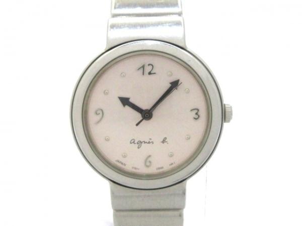 agnes b(アニエスベー) 腕時計 Y151-0G10 レディース ピンク
