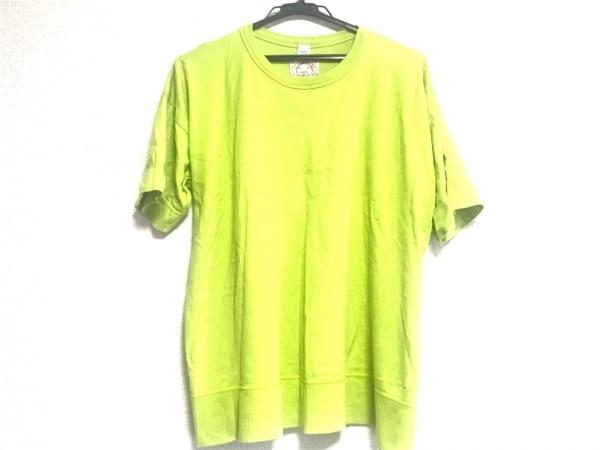 EVISU(エヴィス) 半袖Tシャツ サイズL メンズ ライトグリーン