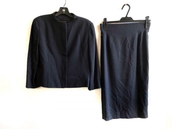 YOSHIE INABA(ヨシエイナバ) スカートスーツ サイズ9 M レディース美品  ダークグレー