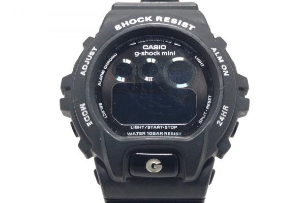 CASIO(カシオ) 腕時計 g-shock mini GMN-690 レディース ラバーベルト 黒