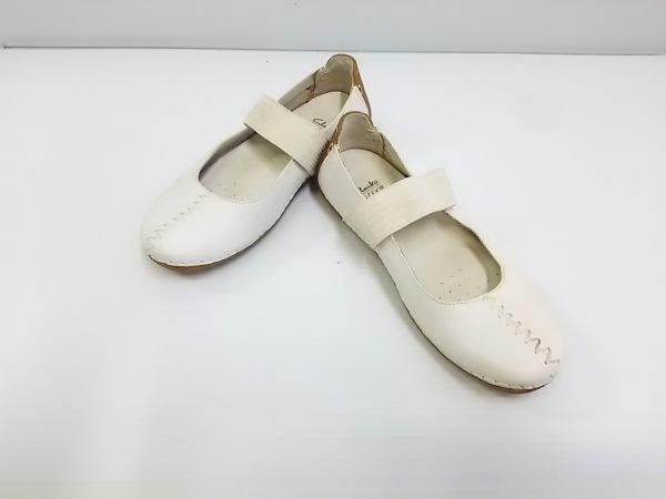 Clarks(クラークス) 靴 UK 3 D レディース 白 active AIR レザー