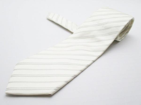 PaulSmith(ポールスミス) ネクタイ メンズ美品  ベージュ×カーキ 斜めストライプ