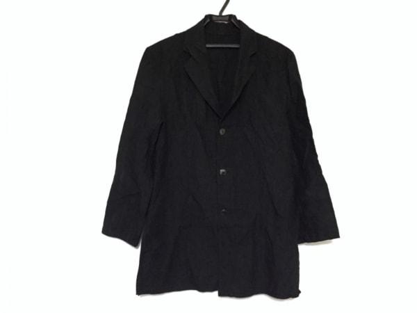 JURGEN LEHL(ヨーガンレール) ジャケット サイズM レディース 黒 ロング丈/春・秋物