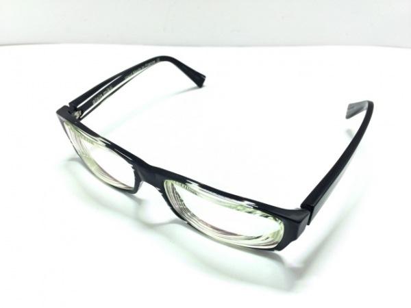 ALAIN MIKLI(アランミクリ) メガネ A070403 クリア×黒 度入り プラスチック