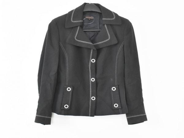 ADOLFO DOMINGUEZ(アドルフォドミンゲス) ジャケット サイズ42 L レディース 黒