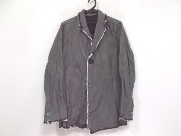 SCHLUSSEL(シュリセル) ジャケット サイズ2 M メンズ美品  ダークグレー×黒