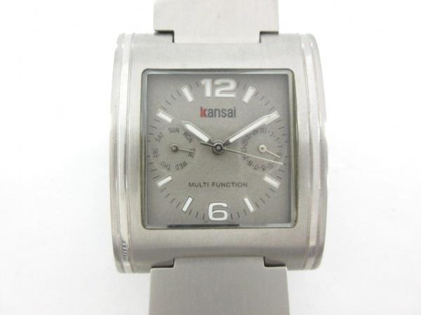 kansai(カンサイ) 腕時計 KP-0819 メンズ シルバー