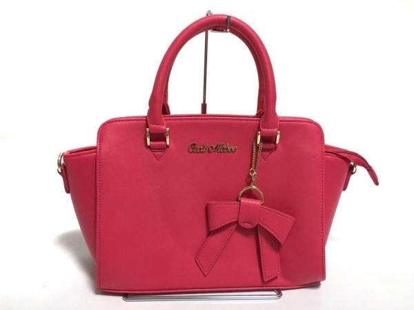 CECILMcBEE(セシルマクビー) ハンドバッグ美品  ピンク 合皮