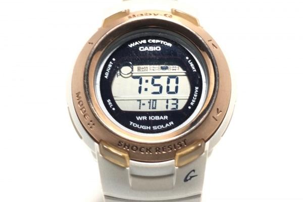 CASIO(カシオ) 腕時計 BABY-G BGT-2600J レディース ラバーベルト 黒