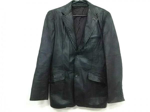 ABAHOUSE(アバハウス) ライダースジャケット サイズ1 S メンズ 黒