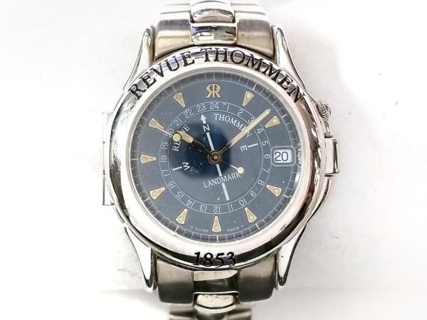 REVUE THOMMEN(レビュートーメン) 腕時計 5825003 レディース ダークネイビー