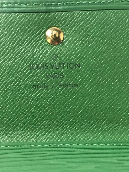 ルイヴィトン Wホック財布 エピ ポルト モネ・ビエ カルト クレディ M63484