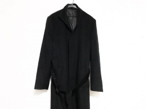 Platinum COMME CA(プラチナコムサ) コート サイズLL メンズ美品  黒 冬物