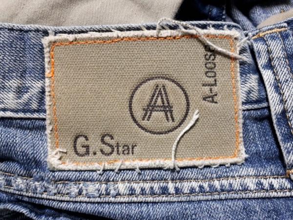 G-STAR RAW(ジースターロゥ) ジーンズ サイズ33 メンズ ネイビー ダメージ加工