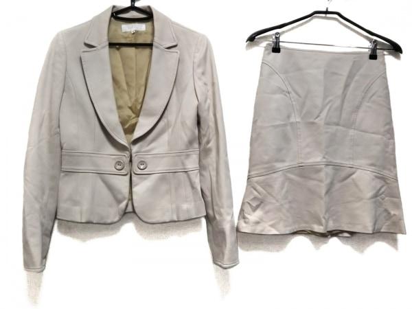 SunaUna(スーナウーナ) スカートスーツ サイズ36 S レディース美品  アイボリー