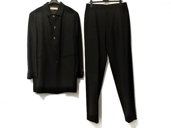 DONNAKARAN SIGNATURE(ダナキャランシグネチャー) シングルスーツ メンズ 黒