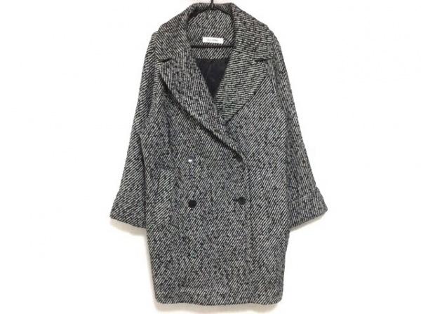 ELFORBR(エルフォーブル) コート サイズ36 S レディース 黒×白 冬物