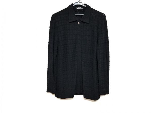 イッセイミヤケパーマネント 長袖シャツブラウス サイズ2 M レディース美品  黒