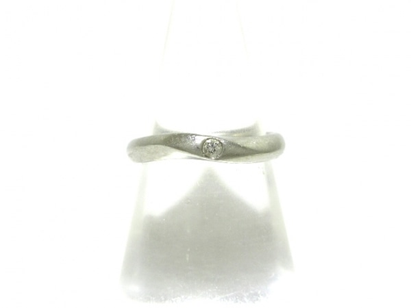ROYAL ASSCHER(ロイヤルアッシャー) リング Pt950×ダイヤモンド