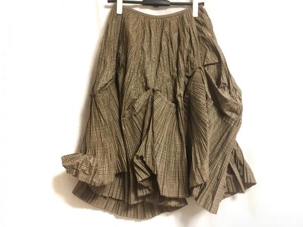 io comme io(イオコムイオ センソユニコ) ロングスカート サイズ40 M レディース美品