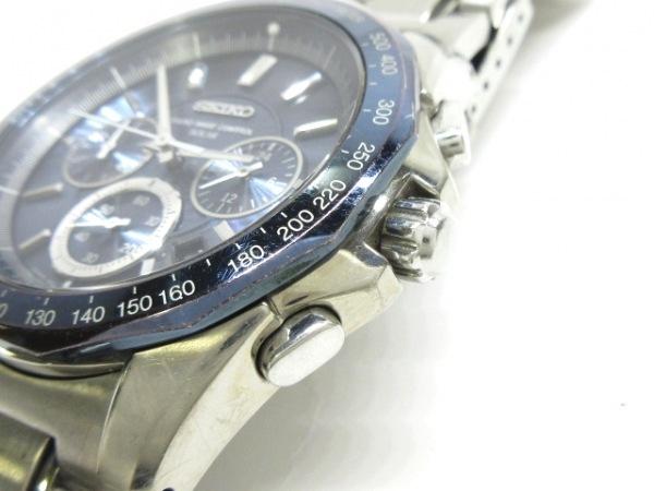 0128e40065 ... SEIKO(セイコー) 腕時計 ブライツ 8B82-0AA0 メンズ ネイビー ...