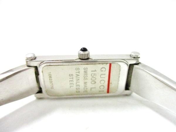 GUCCI(グッチ) 腕時計 1500L レディース シェル文字盤 シェルピンク