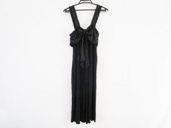 イヴサンローランリヴゴーシュ ドレス サイズS レディース 155971 黒 シルク混