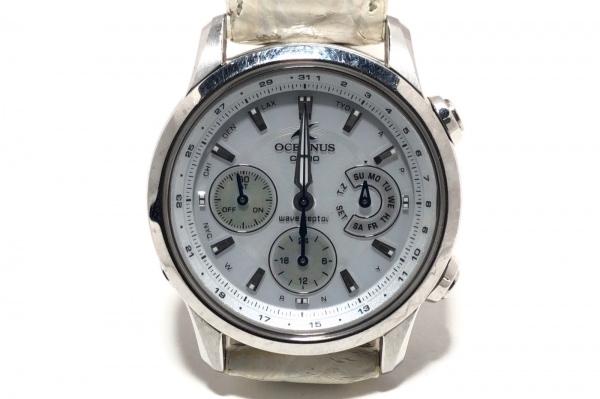 CASIO(カシオ) 腕時計 オシアナス OCW-30 ボーイズ 革ベルト/トリプルカレンダー