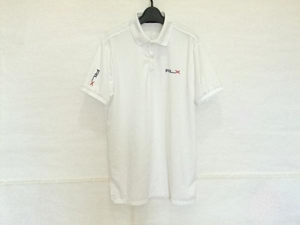 RLX(RalphLauren)(ラルフローレン) 半袖ポロシャツ サイズS メンズ アイボリー