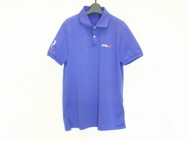 RLX(RalphLauren)(ラルフローレン) 半袖ポロシャツ サイズS メンズ ブルー