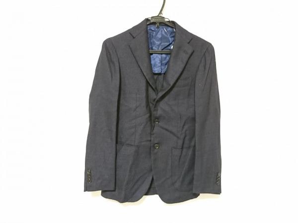 BRILLA(ブリラ) ジャケット サイズ44 L メンズ 黒×パープル
