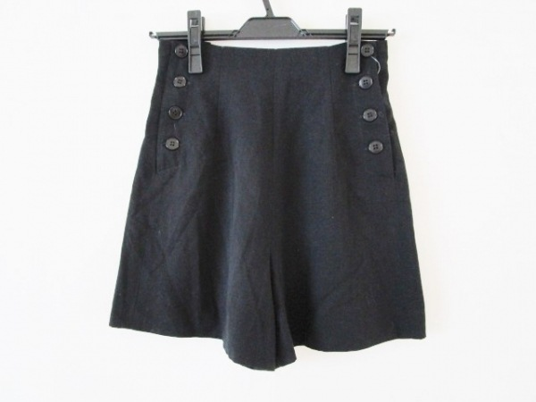 agnes b(アニエスベー) ショートパンツ サイズ36 S レディース 黒