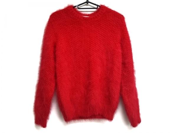サンローランパリ 長袖セーター サイズXS レディース 333412 レッド
