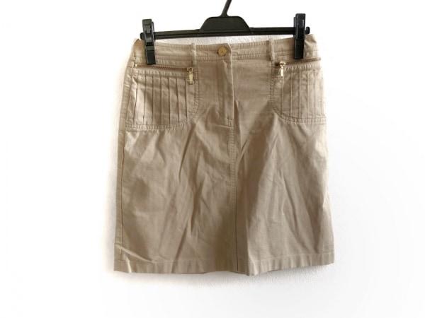 CELINE(セリーヌ) スカート サイズ36 S レディース美品  ベージュ