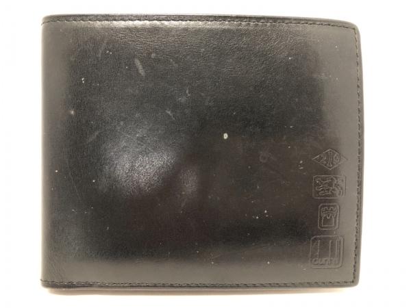 dunhill/ALFREDDUNHILL(ダンヒル) 2つ折り財布 黒 レザー