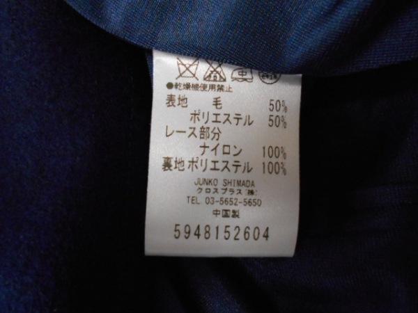 mocassin(モカシン) ワンピーススーツ サイズ3 L レディース ネイビー×黒 レース