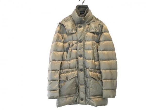 HERNO(ヘルノ) ダウンコート サイズ50 M メンズ美品  カーキ 冬物