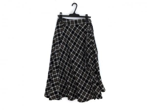 DRWCYS(ドロシーズ) スカート サイズ1 S レディース 黒×白×ベージュ チェック柄