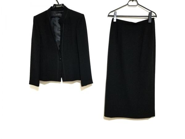 ソワールベニール スカートスーツ サイズ11 M レディース美品  黒 3点セット