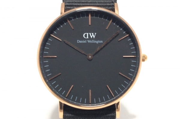 Daniel Wellington(ダニエルウェリントン) 腕時計 B36R9 ボーイズ 黒