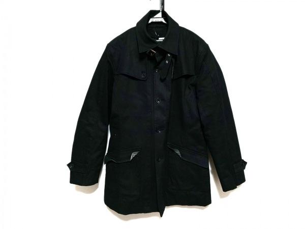 A.S.M(アトリエサブメン) コート サイズ52 メンズ 黒 冬物